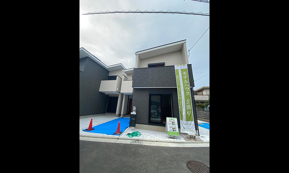 堺市浜寺元町にハウジングギャラリーの新築一戸建て堂々分譲1