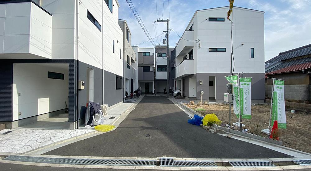 東淀川区菅原1丁目にハウジングギャラリーの新築一戸建て堂々分譲1