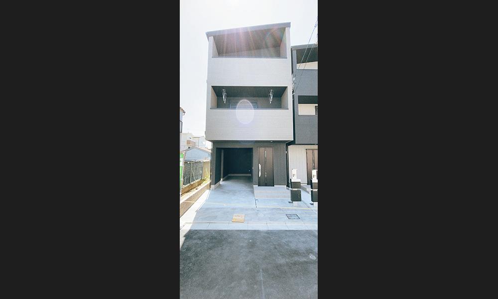 東大阪市寺前町にハウジングギャラリーの新築一戸建て堂々分譲1